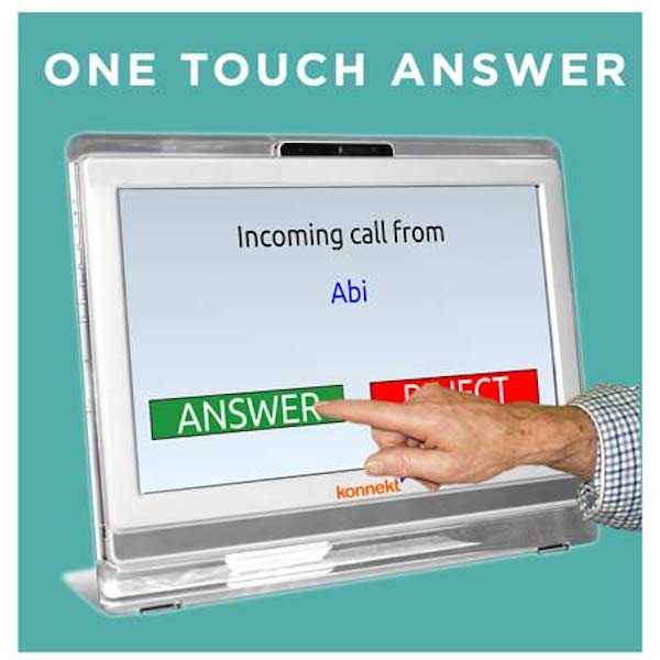One touch answer